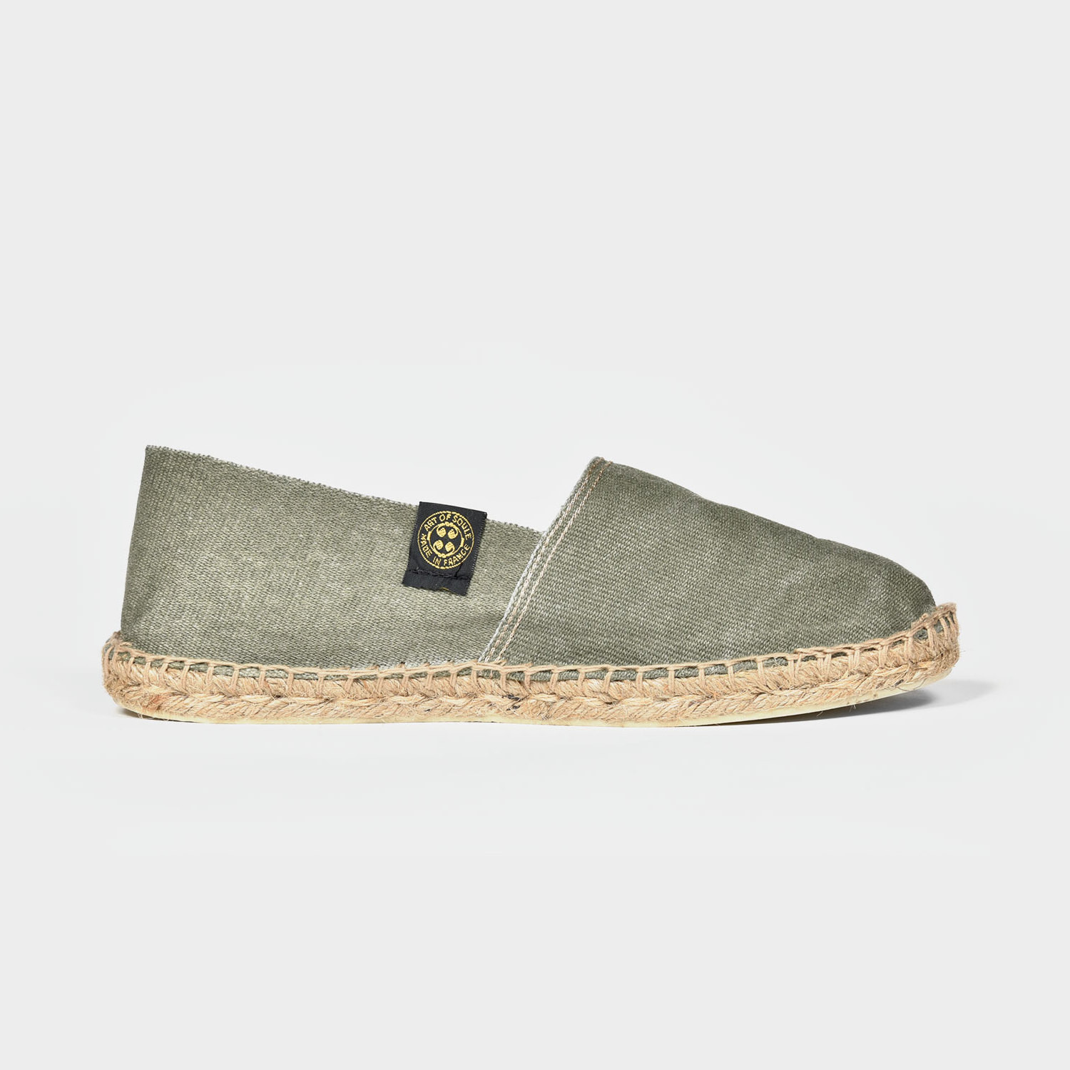 Espadrille Faded green