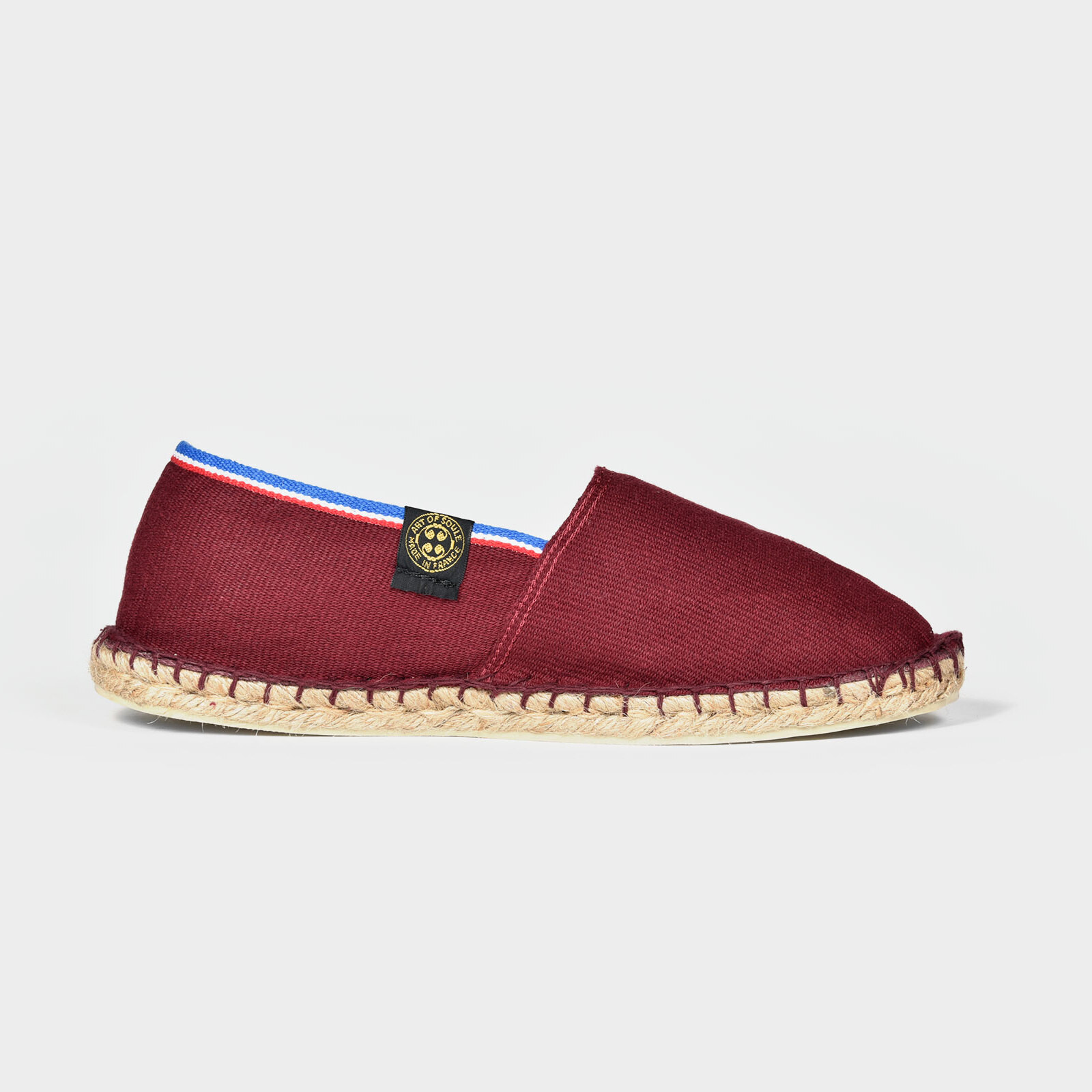 Espadrille French Touch Bordeaux