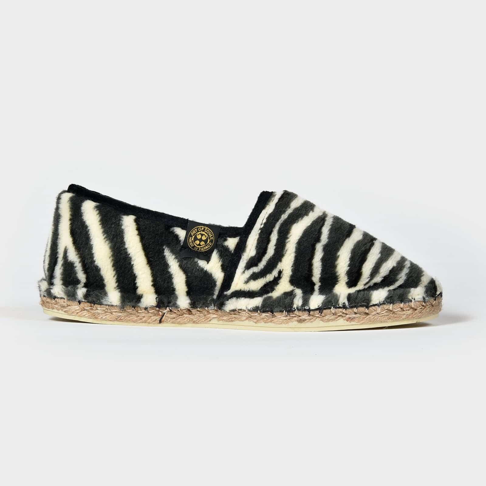 Espadrille Zebra